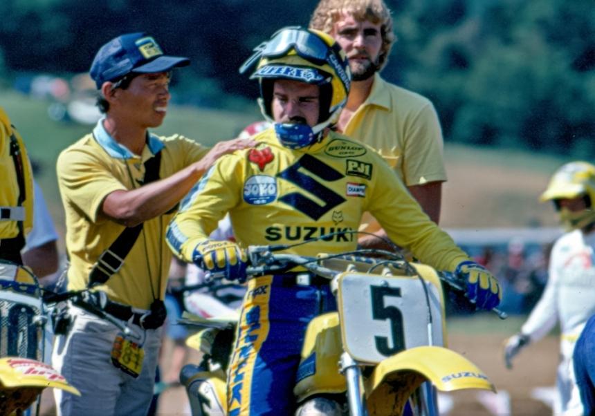Koji Masuda and Mark Barnett - Suzuki Motocross - barnett-005