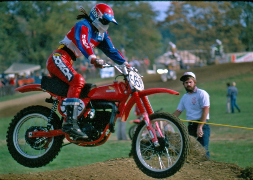 Tommy Croft - Honda Motocross - croft-001