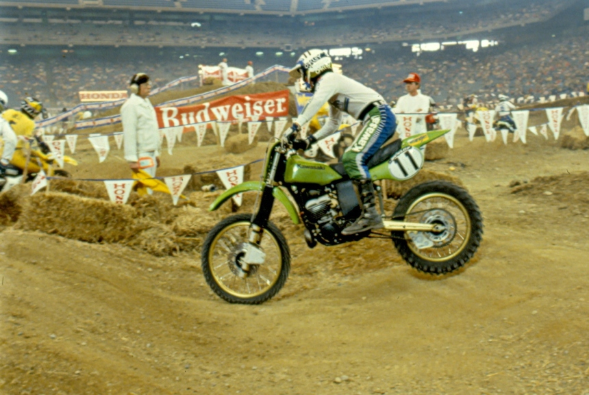 Jeff Ward - Kawasaki Motocross - ward-001