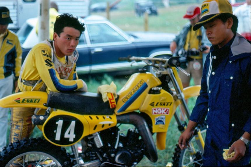 Akira Watanabe - Suzuki Motocross - watanabe-0041