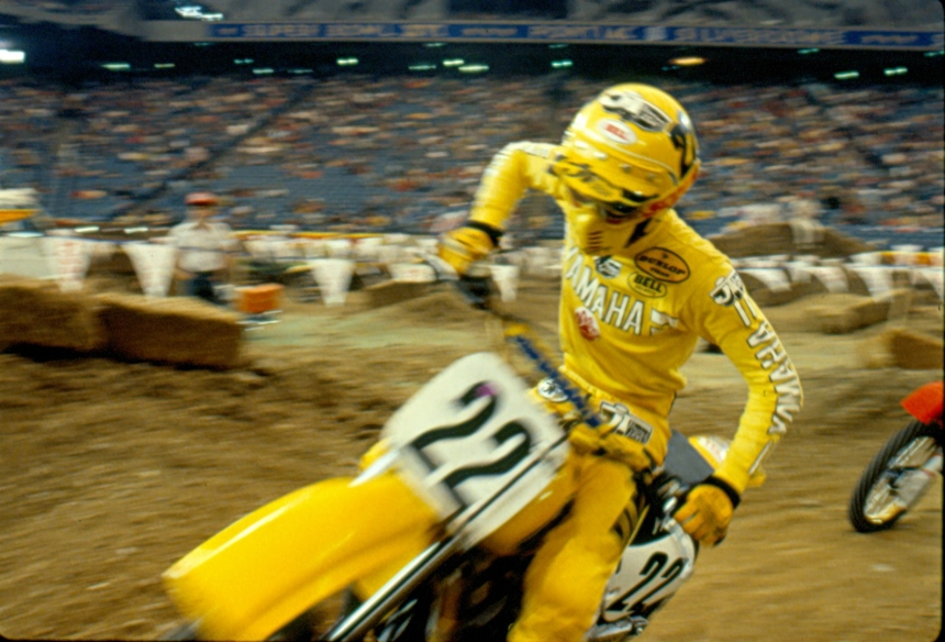 Ricky Johnson - Yamaha Motocross - johnson-001