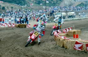 Jorgen Nilsson and Jean-Michel Bayle – At Glen Helen 500 USGP